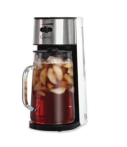 White/Stainless Ice Tea Maker Capresso