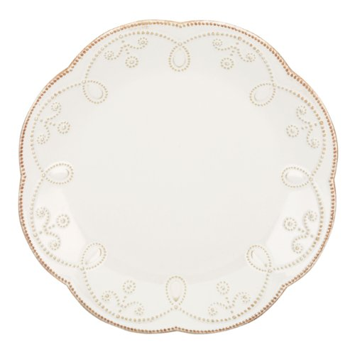 Lenox French Perle Accent Plate, (French Dinnerware Salad Plate)