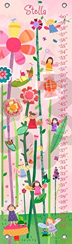 Woodland Fairies by Jill McDonald - Personalized Growth Charts, - Mcdonald Jill Personalized