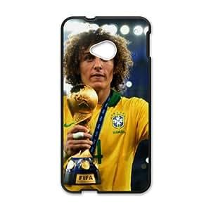 HTC One M7 Cell Phone Case Black David Luiz SJ9466697