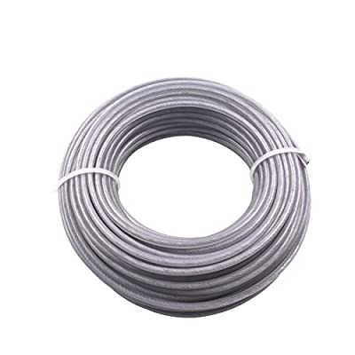 JRL New 183g String Trimmer Line 2.7mm 15m 0.1 inch 49.2 feet Round Square Fits for Weed Eater : Garden & Outdoor
