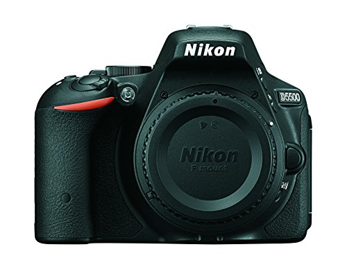 Nikon D5500 DX-format Digital SLR Body (Black)