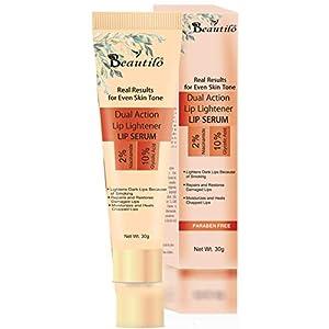 Beautilo Dual Action Lip Lightener Lip Serum/Balm/Lightener/Moisturizer For Lip Lightening/Brightening/Toning…