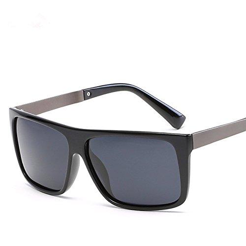 Tendencia De Gafas Anti Polarizadas Youmei® marco La Los Los gris De Deportes del aire ultravioleta Sol Al Lente negro Libre Hombres Para fqYFA5w