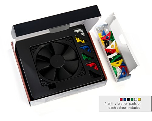 Noctua NF-F12 PWM chromax.Black.swap Premium-Grade Quiet 120mm Fan