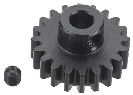 HPI Racing 100919 Pinion Gear 20 Tooth (1m/5mm Shaft) by HPI Racing (Shaft Hpi)