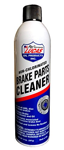 Lucas Oil 10906-12 Brake Parts Cleaner 14oz Case of 12