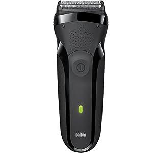 Braun Series 3 300s Men's Electric Shaver / Rechargeable Electric Razor, Black