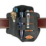 VIPERADE PJ13 EDC Leather Sheath, Knife Belt
