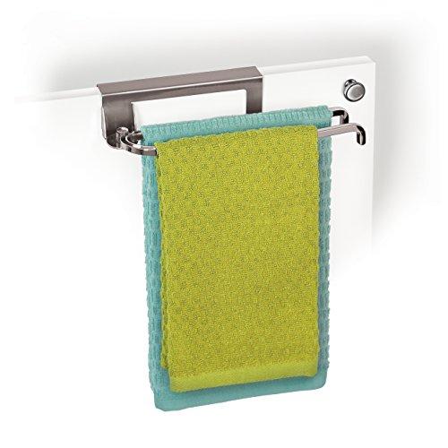 Lynk Over Cabinet Door Pivoting Towel Bar - Chrome