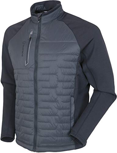 Men's Sunice Hamilton Climaloft Thermal Jacket Charcoal/Charcoal Melange Large