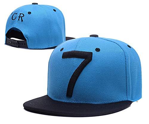 2019 Fashion Cristiano Ronaldo CR7 Baseball Caps Hip hop Sports Snapback  Football hat Men Women coupie c9ccfe3a347e