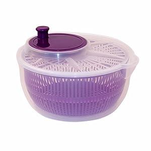Salatschleuder Salatschüssel Violett 1 Stück