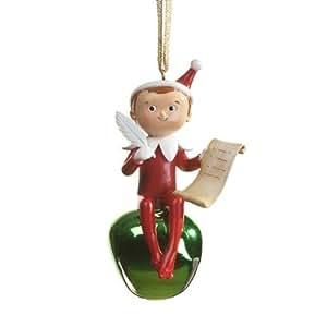 Amazon.com: ELF ON THE SHELF Christmas Tree Ornament ...