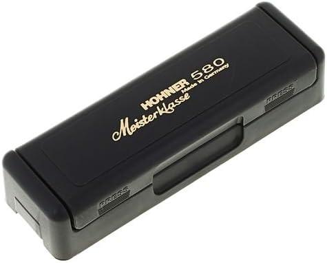 20 Voces Hohner 580//20C ARMONICA BLUES Nota Do Meisterklasse MS Series