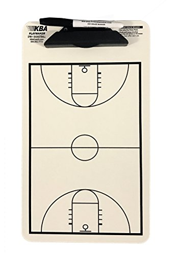 - KBA Coach (Korney Board Aids) Play-Maker Bakestball Coaching Dry Erase Clipboard, SPM-1