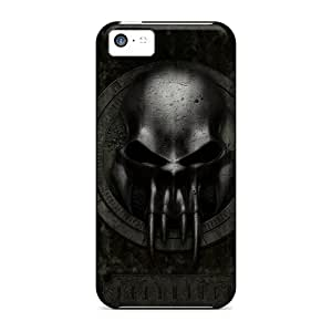 High Quality ArtCart Dark Skin Case Cover Specially Designed For Iphone - 5c