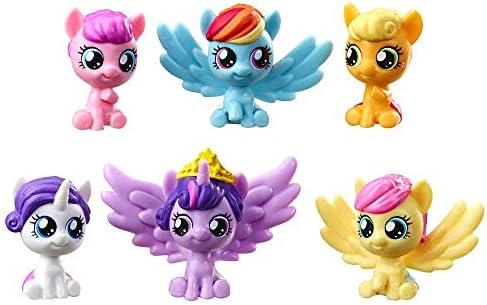 Amazon.com: My Little Pony My Baby Mane 6 Mini Figures 1