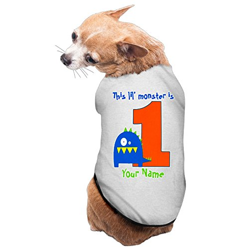 This Lil Monster First Birthday Gray Cute Dog Coats L]()