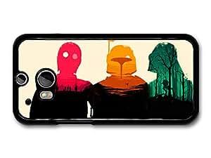 AMAF © Accessories Star Wars Pink Orange Blue Illustration case for HTC One M8