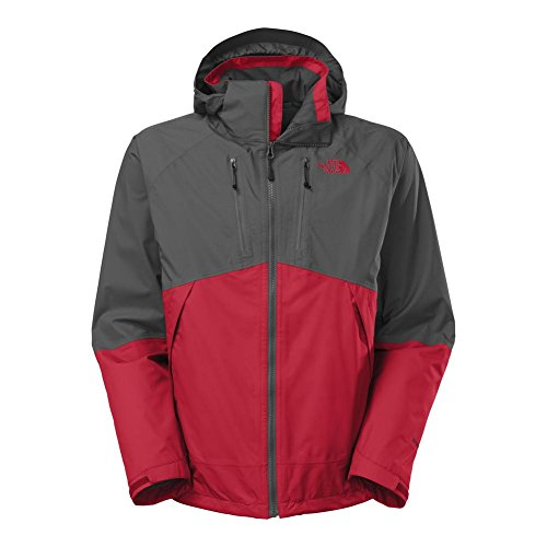 The North Face Condor Triclimate Jacket Mens TNF Red/Asphalt Grey (Condor Triclimate Jacket)