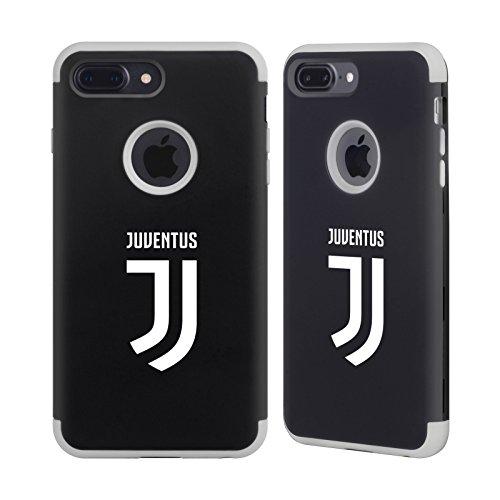 Juventus Football - Official Juventus Football Club Plain Various Designs Gray Guardian Case for iPhone 7 Plus/iPhone 8 Plus