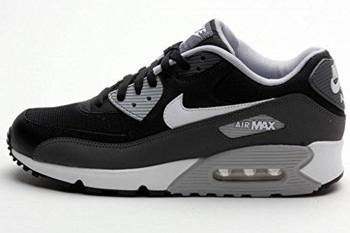 Nike Mens Air Max 90 Essential BLACKDARK GREYWOLF GREY