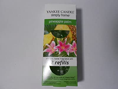 Yankee Candle Electric Home Fragrance Unit Refills Pineapple Palm