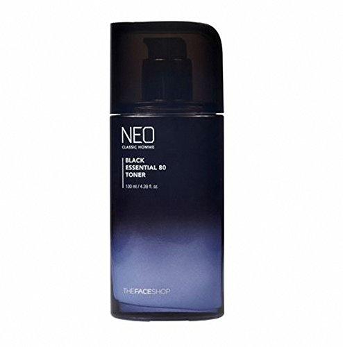 Cheap 【The Face Shop】Neo Classic Homme Black Essential 80 Toner 130ml