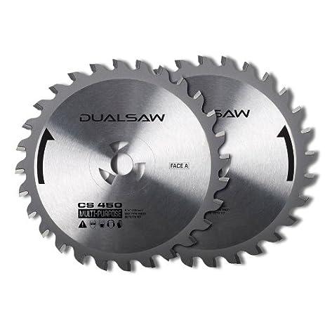 Dualsaw 2 piece circular saw blade set item117959 modelcs450tct dualsaw 2 piece circular saw blade set item117959 modelcs450tct upc keyboard keysfo Images