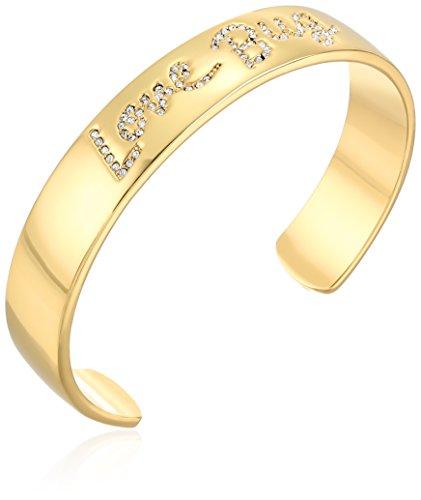 kate spade new york Love Bug Gold-Tone Cuff (Contemporary Cuff Bracelet)