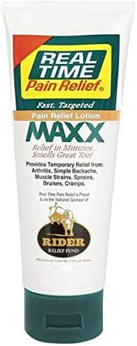 Real Time Pain Relief Maxx, 4 Ounce Tube
