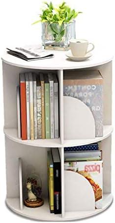 BOOKCASE Creative Swivel Bookcase 360 Degree Bookcase Multi-Layer Student Shelf Floor Standing (Size :) a