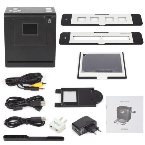 SainSonic FS-05 5MP 35mm Negative Film Slide Scanner, 2.4'' Color TFT LCD, 1800 DPI, TV-out NTSC/PAL, High Resolution of 25201680 , Scanning-Light bar, Internal Memory and Support SD/SDHC Card by SainSonic (Image #6)