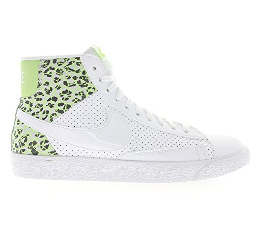 De Deporte Blanco Para Mid Zapatillas Grn Nike Prm Blazer ghst Wmns Pltnm White white Mujer pr AnqFUxXY