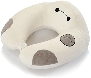 YIWAN Travel Pillow Prevents The Head from Falling Forward in Any Sitting Position Bamboo charcoal nap pillow big white/ Providing Comfort and Support for The Neck and Head