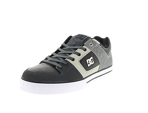 DC Shoes Pure Se M Shoe Gbg - Zapatillas para hombre Grey Black Grey