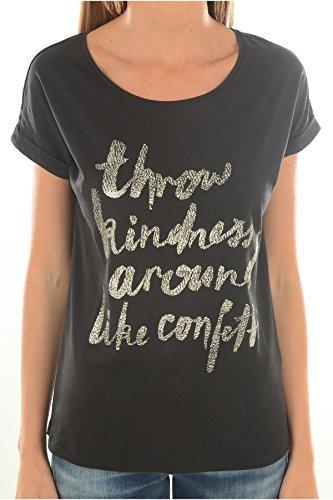 Vero Moda Damen T-Shirt schwarz schwarz