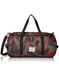 Herschel Sutton Duffel Bag, Dark Olive Palm, One Size