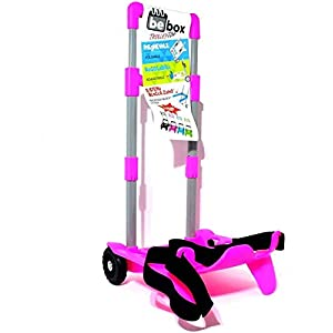 Be Box Seven Carrello Trolley Portazaino Blocca Zaino rosa CARTOLERIA VARZI 1956 10 spesavip