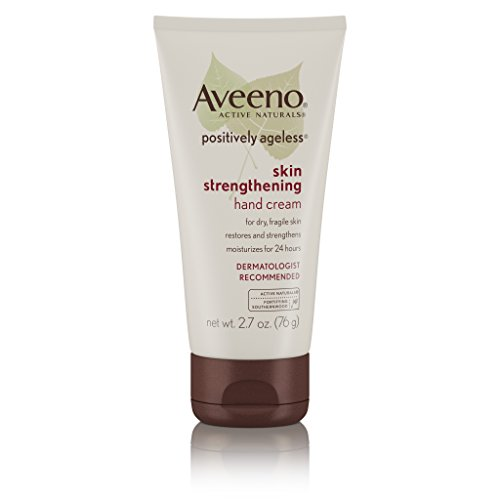 Aveeno Positively Ageless Skin Strengthening Hand Cream For Dry Skin, 2.7 Oz
