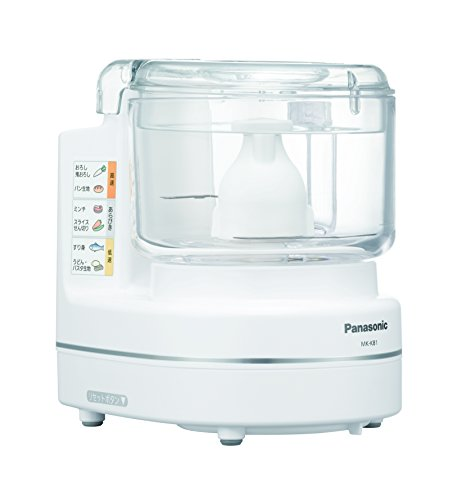Food Mixer White Mk-k81-w (Japan Import) by Panasonic