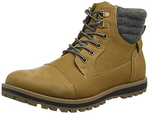 New Look Worker, Botines para Hombre Beige (tan/18)