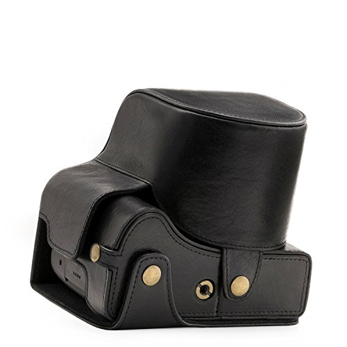 """MegaGear """"Ever Ready"""" Genuine Leather Camera Case - Easy to"""