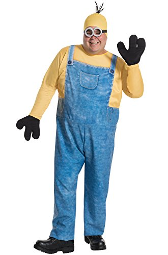 Rubie's Men's Minion Kevin Plus Size Costume, Multi, One Size -