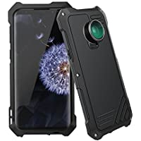 Scheam Samsung Galaxy S9 Case, Galaxy S9 Armor Case [3-in-1 Special Effect Lenses + 198°x Fisheye + 0.63x Wide Angle + 15x Micro Lens] Soft Silicone Triple Protection Screen Protective Case (Black)