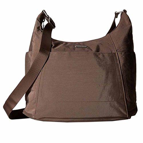 Baggallini Hobo Tote Crossbody Handbag Functional Pockets and Key Chain (Portobello)