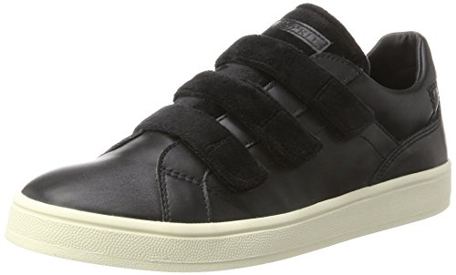Noir Guanda UK Femme Black Hautes Velcro Sneakers Esprit 8 wBXqz1q