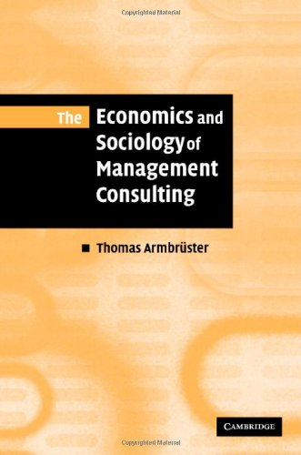 The Economics and Sociology of Directing Consulting