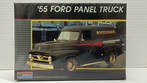 Monogram 2772 1955 Ford Panel Truck 1:24 Scale Plastic Model Kit - Requires (1955 Ford Panel Truck)